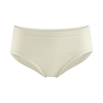WASE dámské kalhotky se zpevněným pasem (briefs) ze 100%  biobavlny - přírodní
