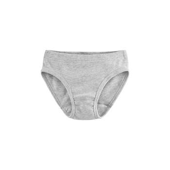 GOOSE dívčí kalhotky ze 100% biobavlny - šedá melange