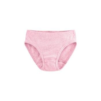 GOOSE dívčí kalhotky ze 100% biobavlny - růžová melange