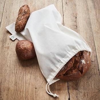 BREAD pytlík na pečivo ze 100% nebělené biobavlny
