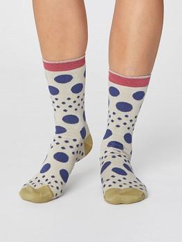 EASY SPOT dámské bambusové ponožky - béžová