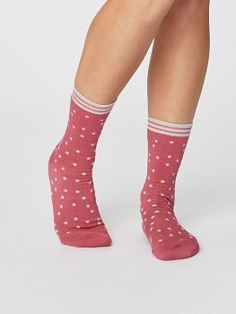 STAR dámské bambusové ponožky - růžová