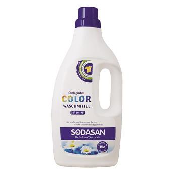 Bio tekutý prací prostředek na barevné prádlo - 750 ml