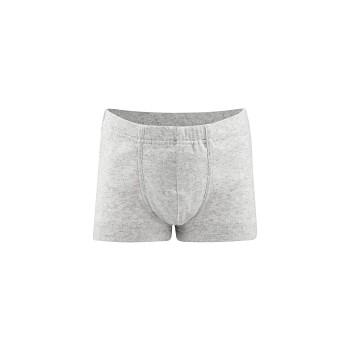 GORILLA chlapecké boxerky ze 100% biobavlny - šedá melange