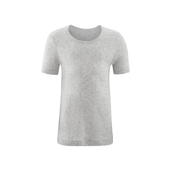GOAT unisex dětské tričko s krátkými rukávy ze 100% biobavlny - světle šedá melange