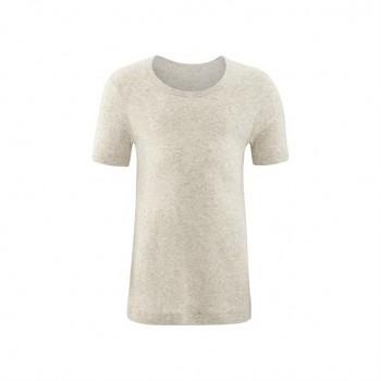 GOAT unisex dětské tričko s krátkými rukávy ze 100% biobavlny - přírodní melange