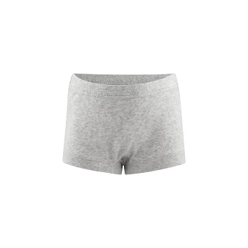 GIRAFFE  dívčí kalhotky (panty) ze 100% biobavlny - šedá melange
