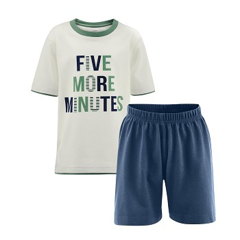 CHAMPION chlapecké pyžamo ze 100% biobavlny - modrá