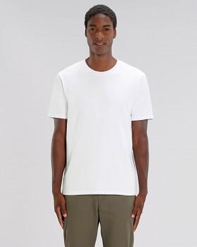 STANLEY SPARKER pánské tričko s krátkým rukávem ze 100% biobavlny - bílá