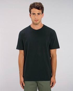 STANLEY SPARKER pánské tričko s krátkým rukávem ze 100% biobavlny - černá