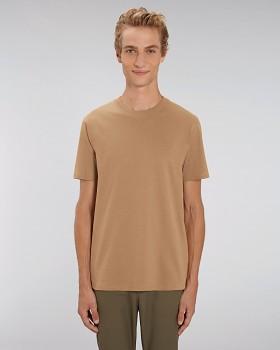 STANLEY SPARKER pánské tričko s krátkým rukávem ze 100% biobavlny - béžová camel