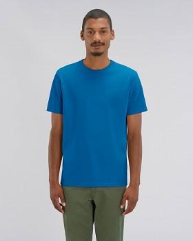 STANLEY SPARKER pánské tričko s krátkým rukávem ze 100% biobavlny - modrá royal