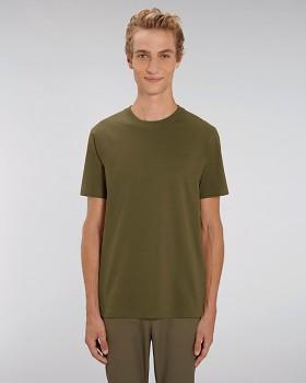 STANLEY SPARKER pánské tričko s krátkým rukávem ze 100% biobavlny - british khaki