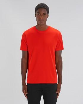 STANLEY SPARKER pánské tričko s krátkým rukávem ze 100% biobavlny - červená