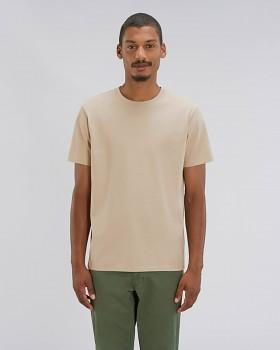 STANLEY SPARKER pánské tričko s krátkým rukávem ze 100% biobavlny - béžová desert dust