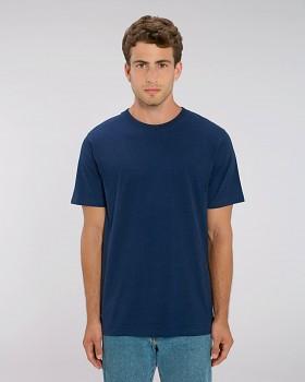 STANLEY SPARKER pánské tričko s krátkým rukávem ze 100% biobavlny - tmavě modrá black heather blue