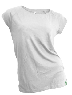 4c5bcadf9a Dámské bambusové tričko bílé 30denni garance vraceni zbozi logo ...