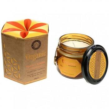 Organic Goodness přírodní svíčka ze sojového vosku - santalové dřevo