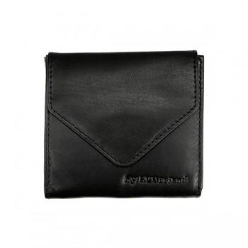 MINI vintage kožená peněženka černá