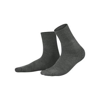 HADLEY teplé vlněné ponožky - šedá antracit