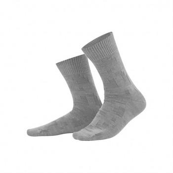 HAGEN pánské ponožky z vlny a biobavlny - šedá