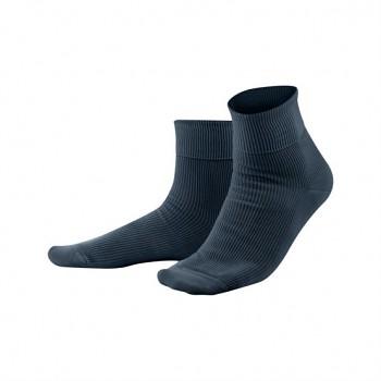 Unisex žebrované ponožky ze 100% biobavlny - tmavě modrá navy