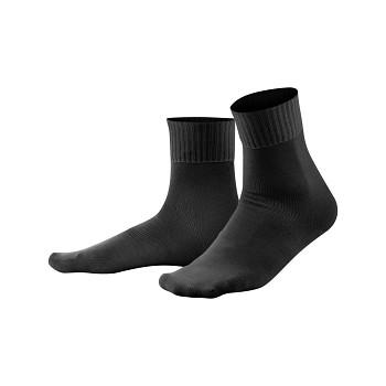 COMFORT unisex ponožky z biobavlny - černá