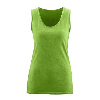 EIREEN dámské tílko ze 100% biobavlny - zelená lime