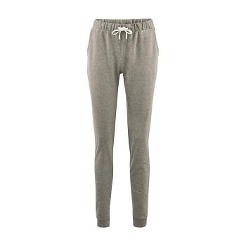 ALISA dámské teplákové kalhoty ze 100% biobavlny - šedá stone