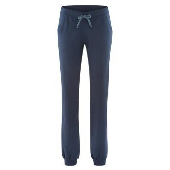 BEA dámské teplákové kalhoty z biobavlny - tmavě modrá night
