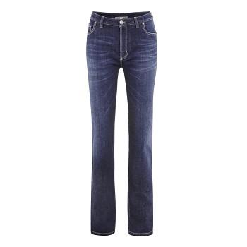 DONNA Dámské džíny z biobavlny - tmavě modrá jeans
