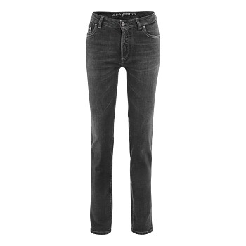 DONNA Dámské džíny z biobavlny - černá sepraná