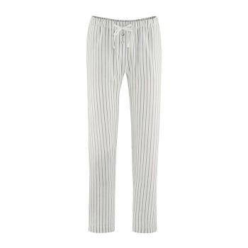 EUGENIE dámské pyžamové kalhoty  bio lnu a bio bavlny - khaki