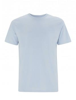 Pánské/unisex  tričko s krátkými rukávy z 100% biobavlny - světle modrá light blue