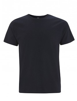 Pánské/unisex  tričko s krátkými rukávy z 100% biobavlny - modrá navy