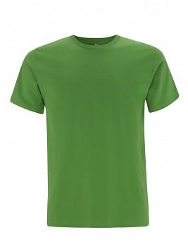 Pánské/unisex  tričko s krátkými rukávy z 100% biobavlny - zelená light green
