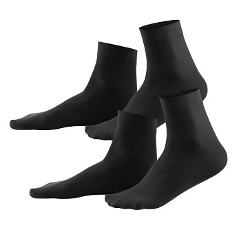 INES dámské ponožky z EVO vlákna - černá (2 páry)