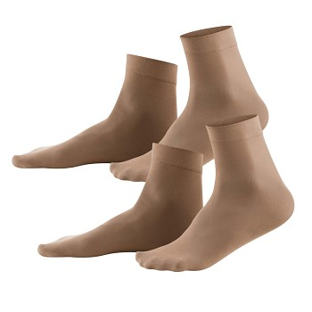 INES dámské ponožky z EVO vlákna - pleťová (2 páry)