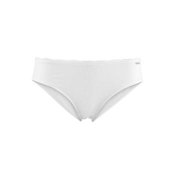 IDARA dámské slipové kalhotky  z biobavlny - bílá