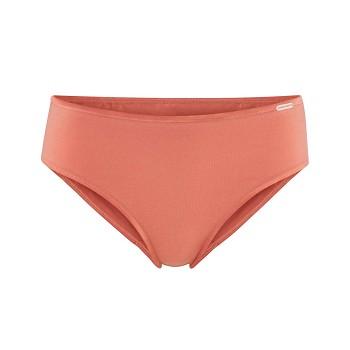 CLARISSA dámské kalhotky panty z biobavlny - růžová blush