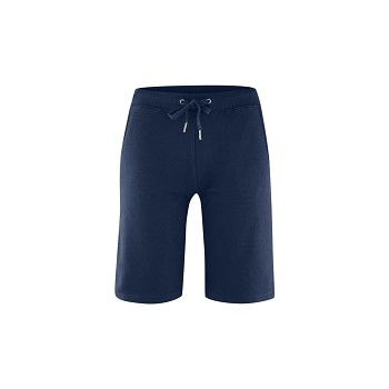 INA dámské teplákové šortky ze 100% biobavlny - tmavě modrá navy