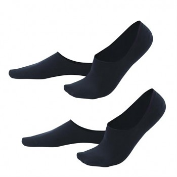 IKER pánské neviditelné ponožky z biobavlny - modrá navy (2 páry)