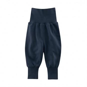 EGG Kojenecké kalhoty ze 100% biobavlny - tmavě modrá navy