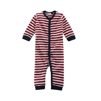 EMU Kojenecké pyžamo ze 100% biobavlny - červená