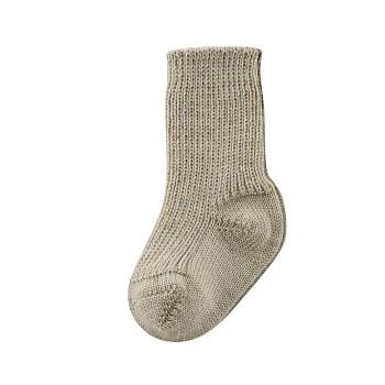 DONKEY kojenecké ponožky z bio vlny a biobavlny - béžová taupe