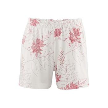 IVA dámské pyžamové šortky ze 100% biobavlny - bílá