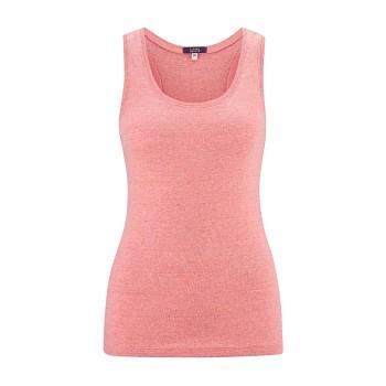 ILDIKO dámské tílko ze 100% biobavlny - růžová blush