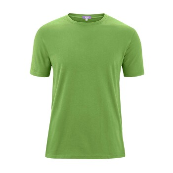 ILKO Pánské tričko s krátkými rukávy ze 100% biobavlny - zelená