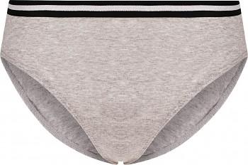 Comazo Earth Dámské sportovní kalhotky mini-slip z biobavlny - šedá melange