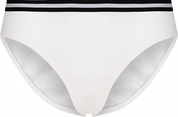 Comazo Earth Dámské sportovní kalhotky mini-slip z biobavlny - bílá